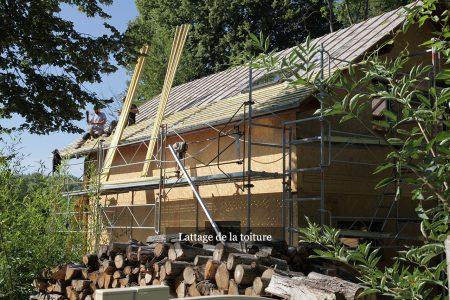 Lattage de la toiture