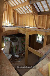 Structure intérieure bois